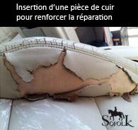 exemple réparation cuir liquide