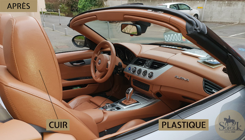 renovation plastique bmw z4
