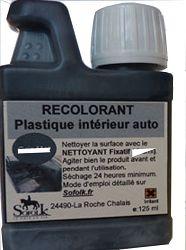 RECOLORANT PLASTIQUE NOIR