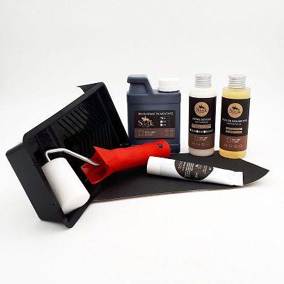 kit renovation 1 si ge auto cuir noir sofolk. Black Bedroom Furniture Sets. Home Design Ideas