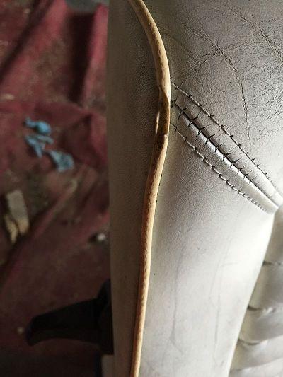Restauration changement couleur cuir golf 1 cabriolet sofolk - Teinter du cuir ...